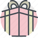 date, gift, love, present, romance, valentines icon