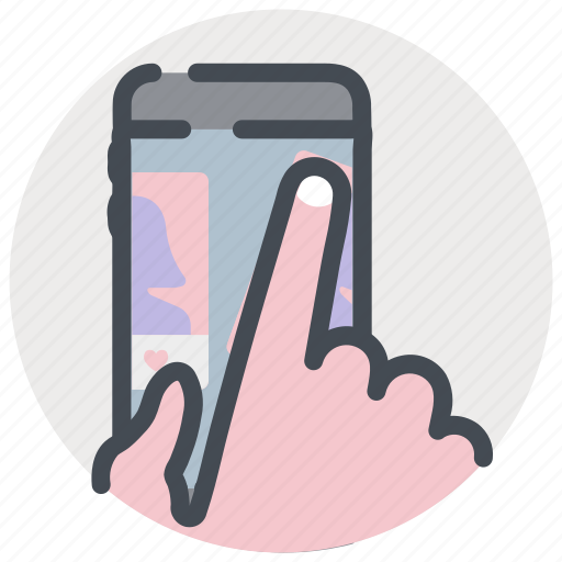 App, date, dating, love, romance, tinder, valentines icon - Download on Iconfinder