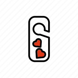 dating, hotel, love, romantic, valentine icon
