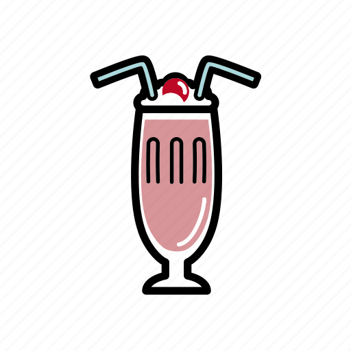 dating, milkshake, romantic, sweet, valentine icon