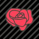 ature, cartoon, flower, illustration, petals, plant, rose
