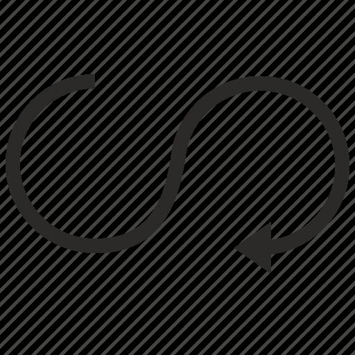move, road, rotate, rotation icon