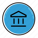 bank, banking, business, cash, finance, financial, money icon