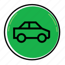 auto, bus, car, road, transport, van, vehicle icon