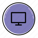 computer, desktop, device, display, laptop, monitor, screen icon