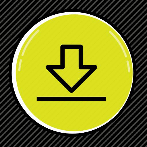 arrow, arrows, direction, download, location, move, pointer icon