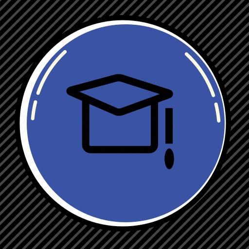 cap, education, graduation, learning, school, student, university icon