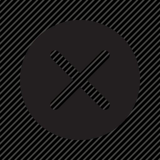 Abort, cancel, close, cross, delete, remove, revoke icon - Download on Iconfinder