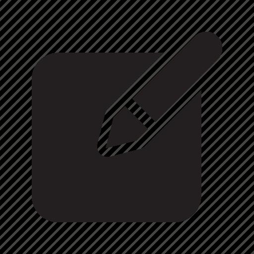 annotate, arrange, edit, jot, note, write icon