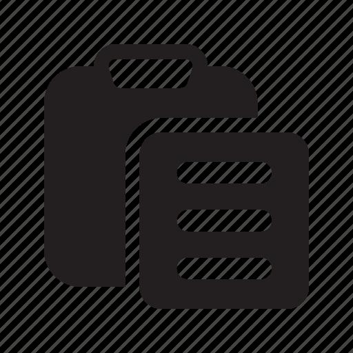 Clipboard, list, paste icon - Download on Iconfinder