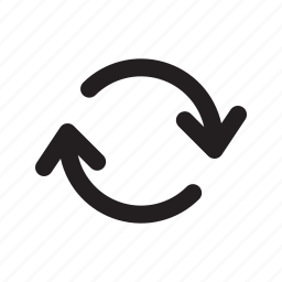 arrow, processing, recycle, refresh, repeat, retry, update icon