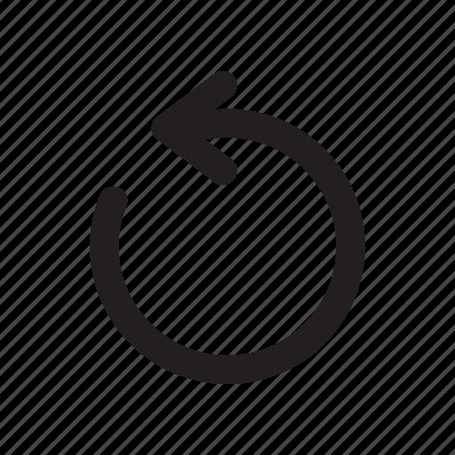 arrow, redo, refresh, rotate, undo icon