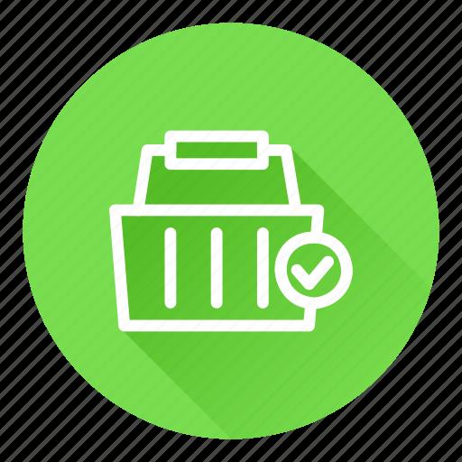 basket, cart, checkout, shopping icon