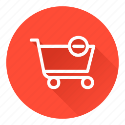 cart, checkout, delete, shopping icon