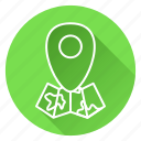 location, map, marker, navigation, navigator icon