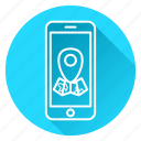 google maps, location, map, maps, marker, navigation icon