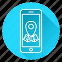 google maps, location, map, maps, marker, navigation icon