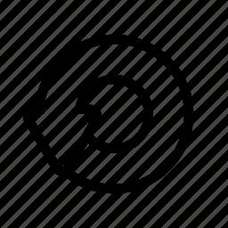 again, loop, renew, repeat icon
