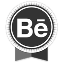 behance, ribbon, social