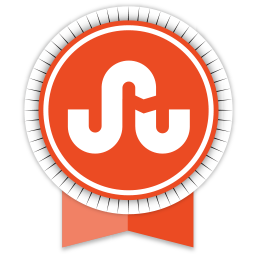 ribbon, social, stumbleupon icon