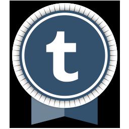 Ribbon, social, tumblr icon - Free download on Iconfinder