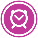 alarm, alert, clock, notification, time, watch icon