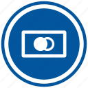 business, cash, currency, finance, mastercard, money icon