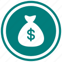 bag, currency, money, payment icon