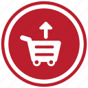 cart, remove icon