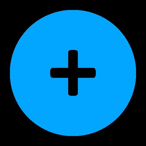 Add Icon Blue