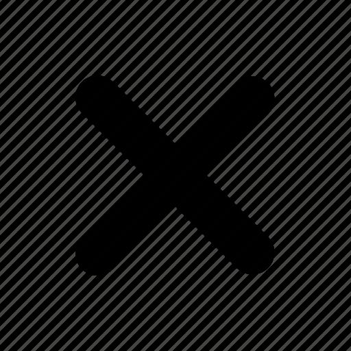 close, remove, x icon