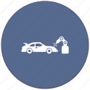 auto, car, industrial, manipulator, robot, welding icon