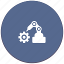 car, gear, manipulator, mashine, robot, welding icon