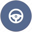 auto, car, control, drive, transport, wheel icon