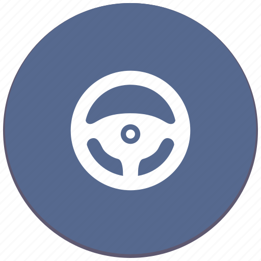 auto, car, control, drive, transport, wheel icon