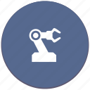 hand, industrial, manipulator, mashine, robot, work icon