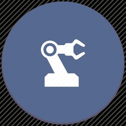 hand, industrial, manipulator, mashine, robot, work icon