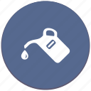 canister, car, drop, oil, petrol, water icon