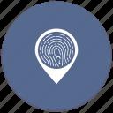 biometry, dactyl, dactylography, finger, poi, pointer icon