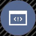 code, error, program, source, tag, window