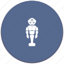 android, body, domestic, human, robot, worker icon
