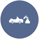 auto, car, manipulator, robot, toy, welding icon