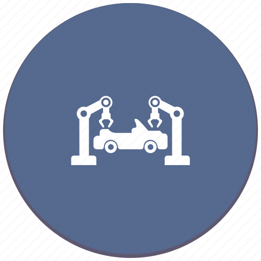assembly, car, robot, toy, vehicle icon