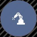 laser, manipulator, robot, welding icon
