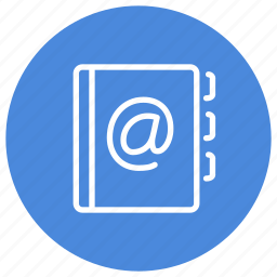address, book, contacts, email, number, phone, professional icon
