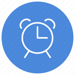 alarm, alert, bell, clock, ring, time, watch icon