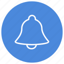alarm, alert, bell, notification, ring, warning icon