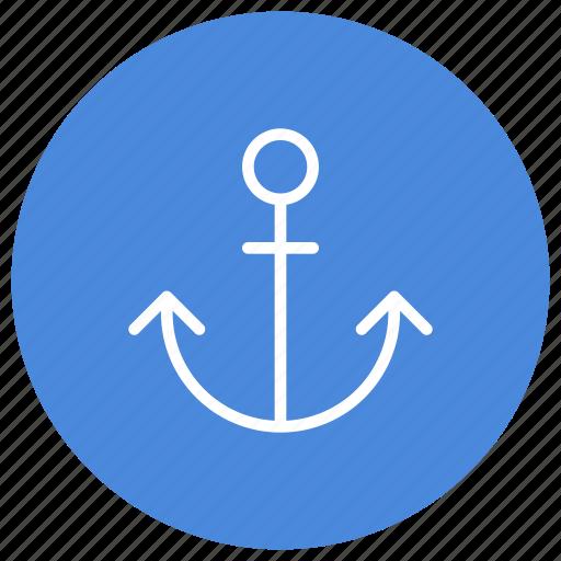 anchor, fix, fixed, marine, nautical, sail, sea icon