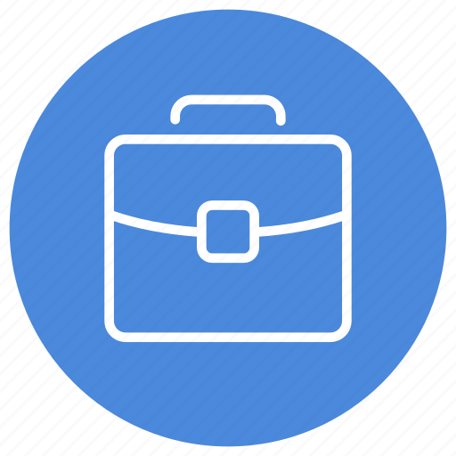 briefcase, business, documents, office, professional, suitcase, work icon