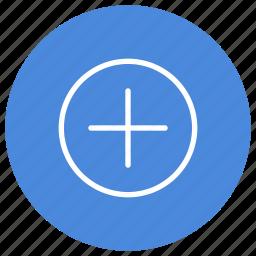 add, create, documents, files, folders, new, plus icon